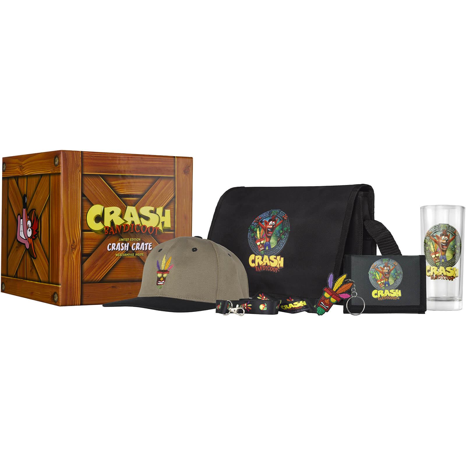 Skrzynia gadżetów Crash Bandicoot Collectable Big Box @ Zavvi