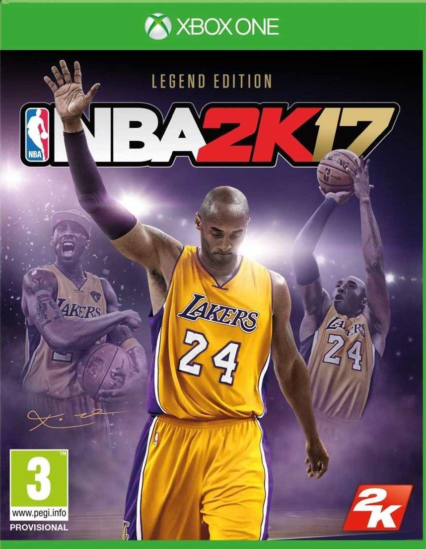 NBA 2k17 Legend Edition XBOX ONE