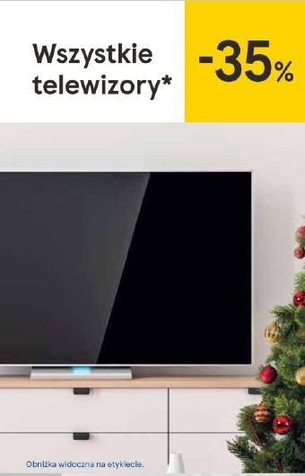 Tesco - telewizory 35% taniej
