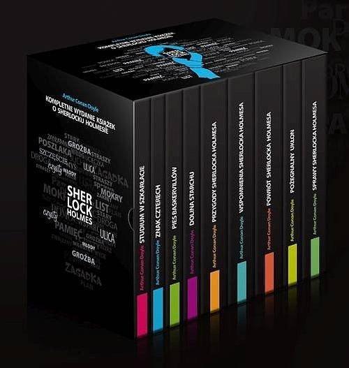 Sherlock Holmes Wydanie Kompletne Box Jeszcze Taniej!