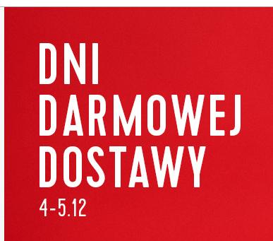 Darmowa dostawa w dniach 4-5.12. @ Cropp/House/Reserved/Sinsay/Mohito