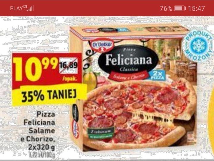 2x pizza Feliciana @ Biedronka