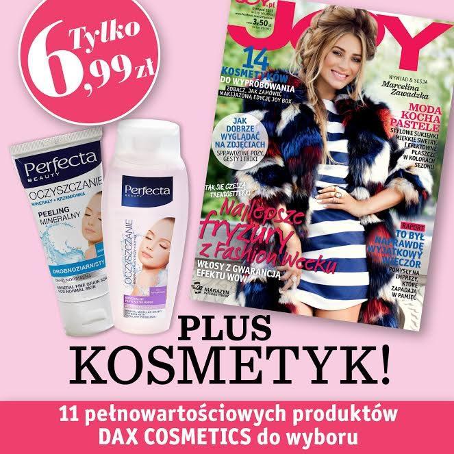 Kosmetyk GRATIS przy zakupie gazety JOY!