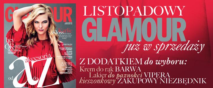 Kosmetyk GRATIS przy zakupie gazety GLAMOUR!