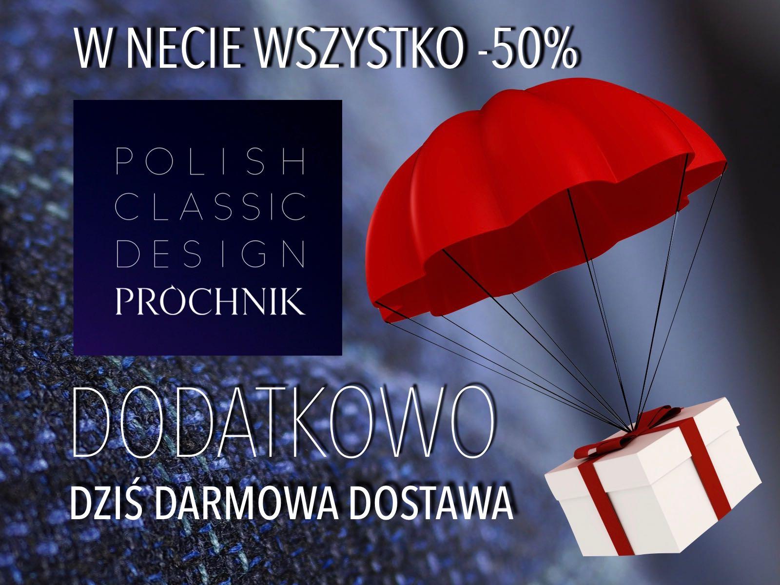 Darmowa dostawa PROCHNIK.COM