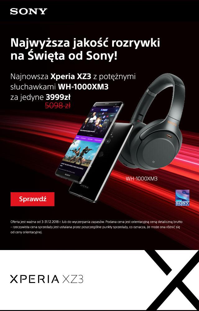 Combo Xperia XZ3 + WH-1000XM3 Sony Center