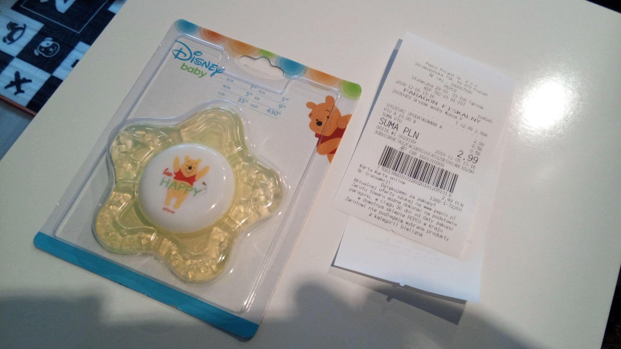 Gryzak na licencji Disney Baby w Pepco (błąd cenowy)