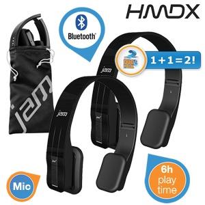 2 pary słuchawek bezprzewodowych (Bluetooth) z wbudowaną baterią HDMX Fusion On Ear za 199zł @ iBood