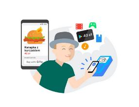 Karta podarunkowa 40zł za pięć płatności wykonanych przez Google Pay (NFC i nie tylko)