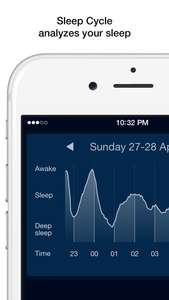 Sleep Cycle alarm clock  - za darmo - iOS