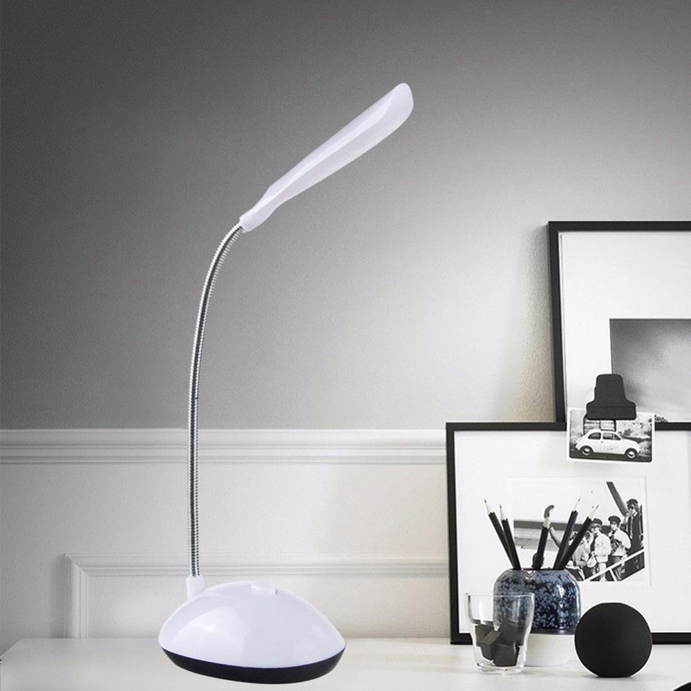 Lampka LED na biurko na baterie AAA