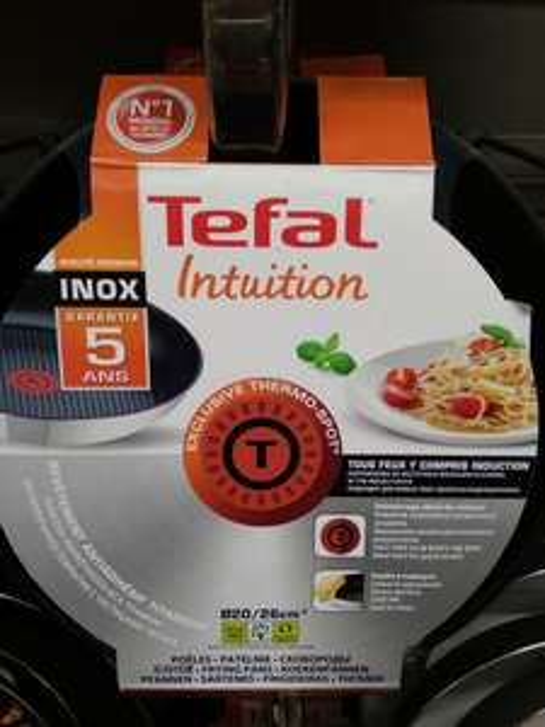 Dwie patelnie TEFAL Intuition za 100zł w Carrefour