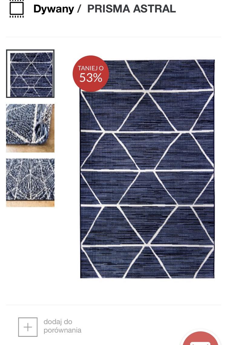 Wyprzedaż nawet do 55% na Komfort.pl -dywany, koce, wykładziny, panele