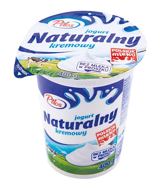 Lidl | Jogurt naturalny kremowy Pilos 400g
