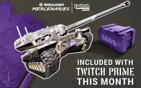 World of Tanks - wartościowa paczka od Twitch