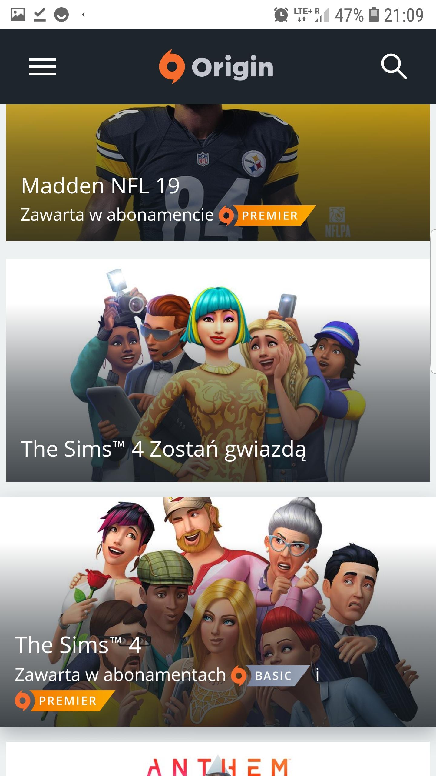 The Sims 4 wyprzedaż gier na origin