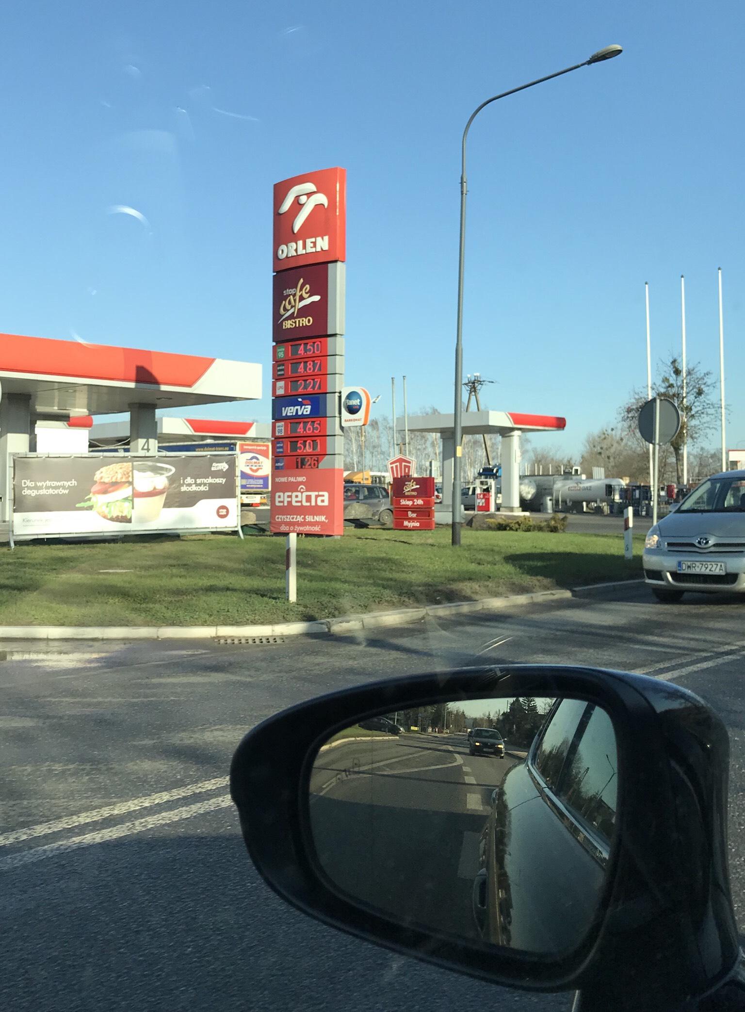 Tania benzyna w Jelcz-Laskowice