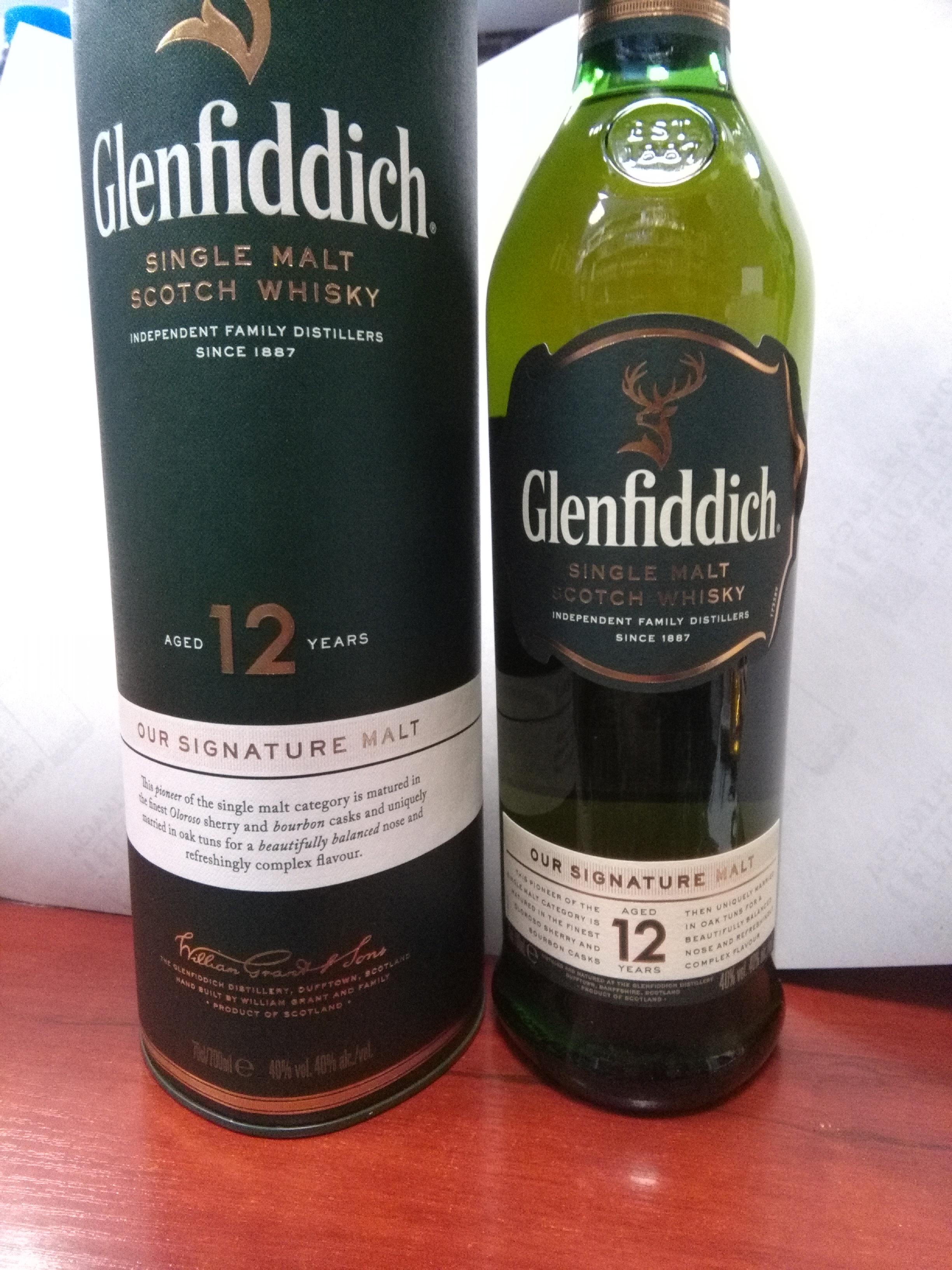 Glenfiddich 12 yo 0.7 @ Al Capone