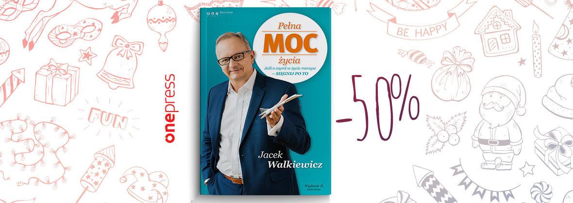 Codziennie inna książki za 50% ceny (lit. biznesowa). Harmonogram promocji @ OnePress