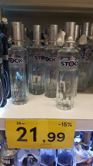 Wódka Stock 0,5l tesco