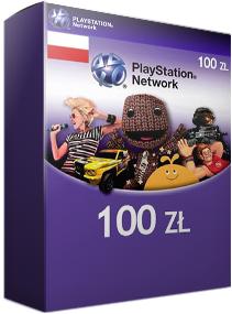 karta PSN o wartości 100zł za 88zł ! @ Keye.pl