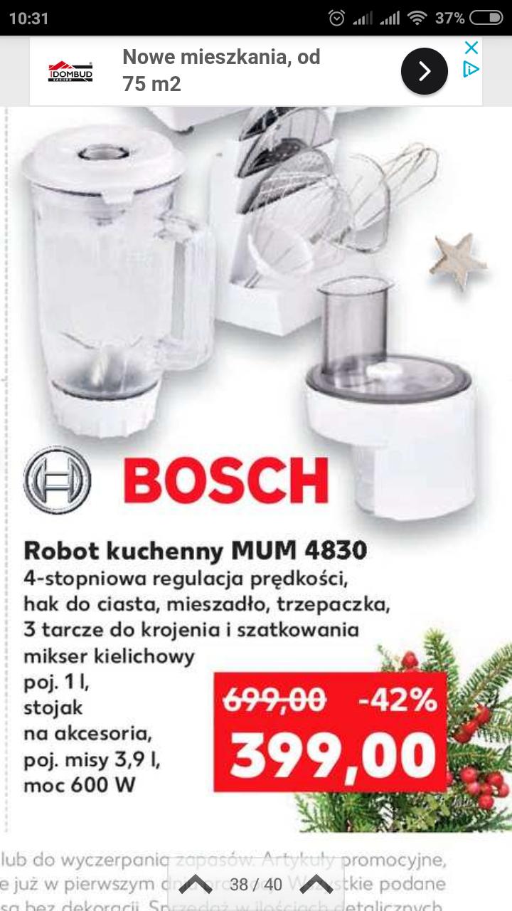 Robot kuchenny MUM 4830 Bosch 399,00 @Kaufland Kaufland