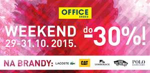 Do 30% rabatu na wybrane marki @ Office Shoes