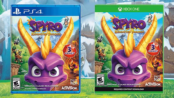 Spyro Reignited Trilogy @ Merlin MasterPass 84.74 zł XONE / PS4