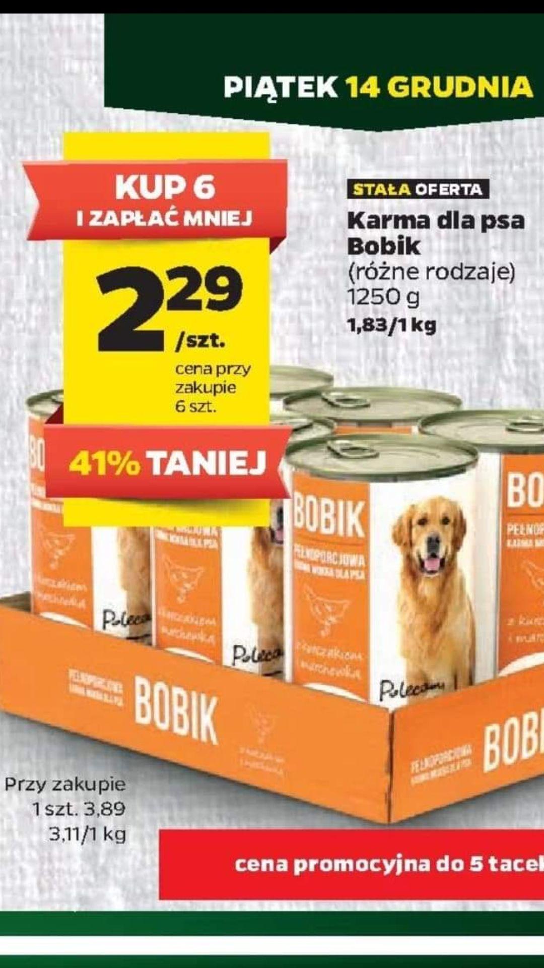 NETTO Karma dla psa - Bobik