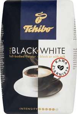 Kawa ziarnista Tchibo Black White 1kg Netto