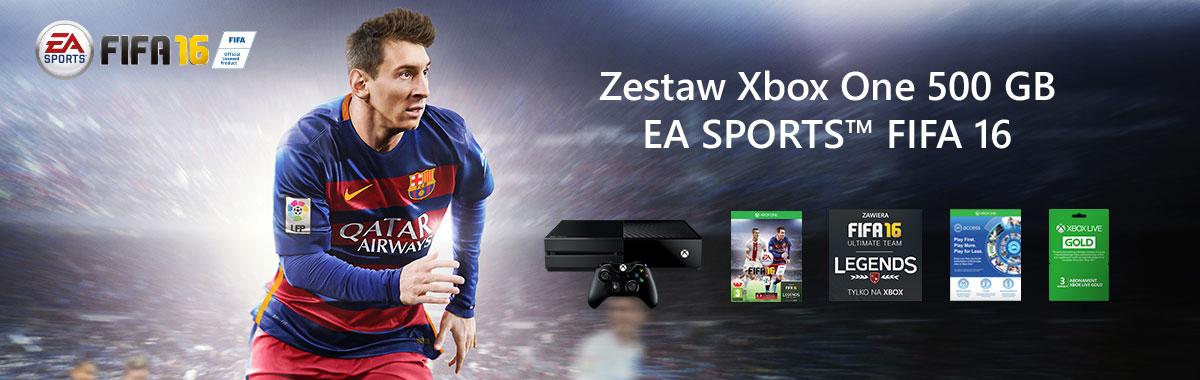 Xbox One 500GB + FIFA 16 za 1499 @ RTV EURO AGD