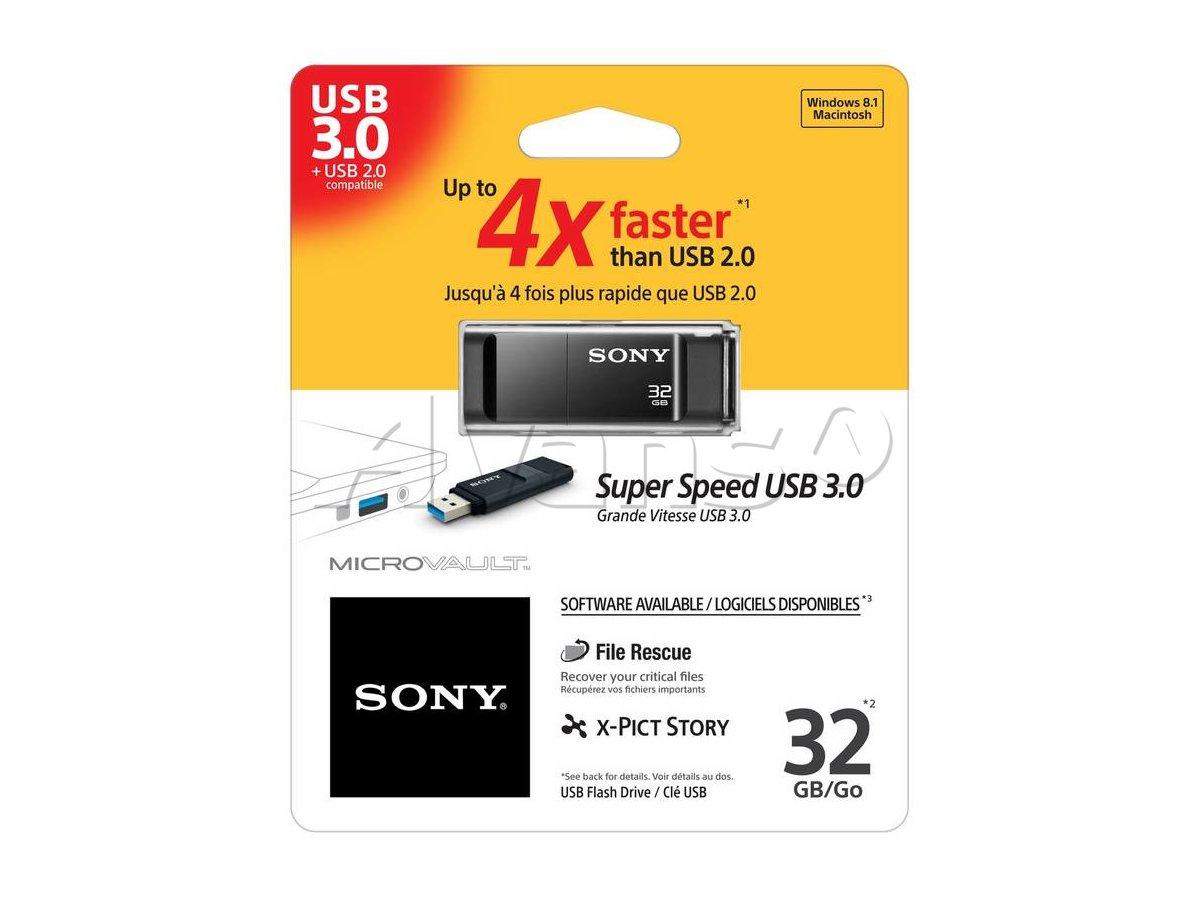 Pendrive SONY USB 3.1 USM32X/B2