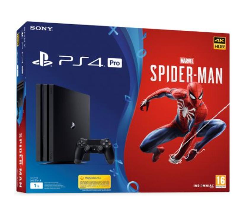 PlayStation 4 Pro, 1TB + Spider-Man Limited Edition