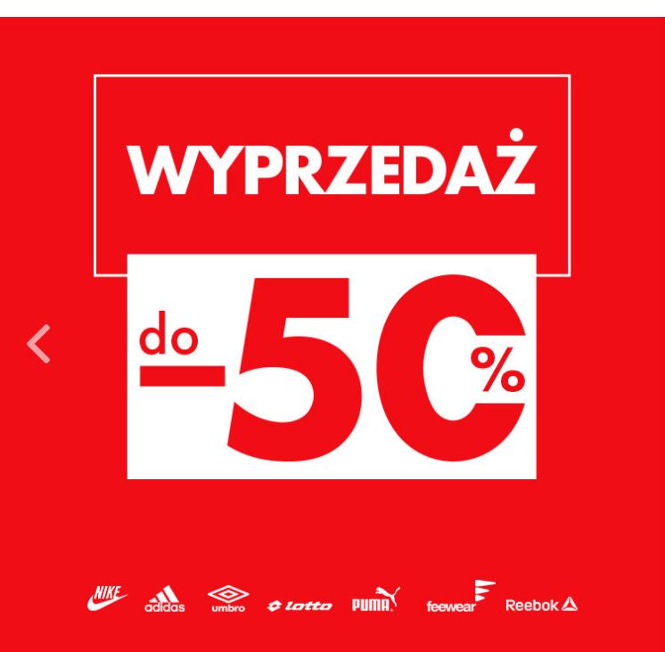 Przeceny DO -50% na 50style.pl
