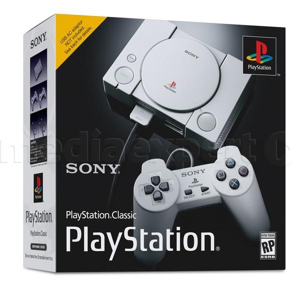 PlayStation Classic (konsola z 20 grami, 2 kontrolery) za 389zł @ Media Expert