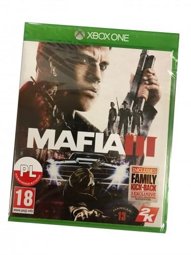 Mafia III na Xbox One - NOWA - wersja pudełkowa