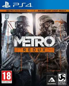 Pakiet Metro Redux: 2033 i Last Light na PS4 w psstore