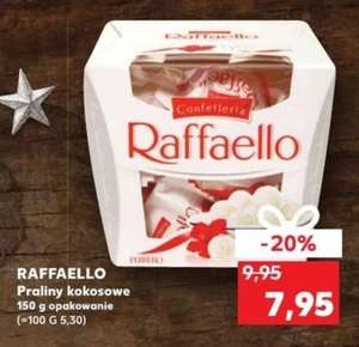 Raffaello 150g za 7.95zł.