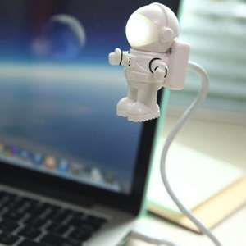 Lampka usb Creative Robot Modeling USB Night Light - White 0.99$