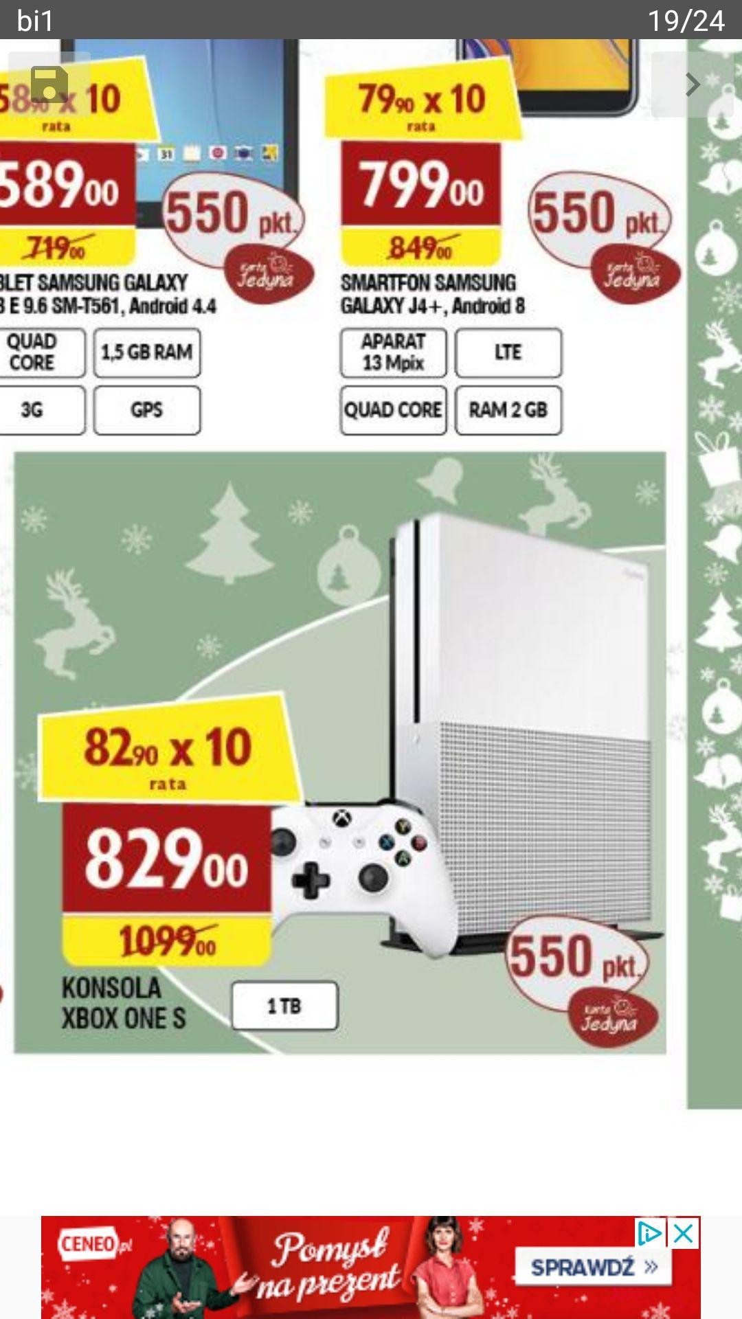 XBOX One S 1TB. Raty 0%.