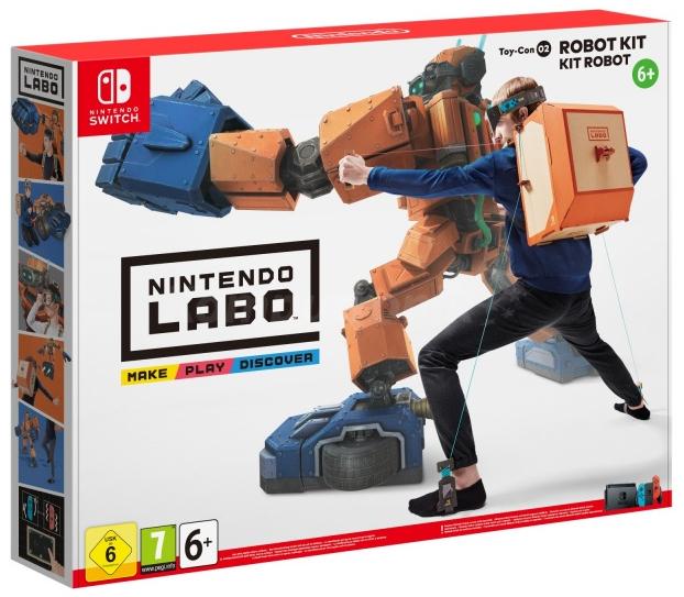 zestawy Nintendo Labo Robot i Variety Kit w dobrych cenach w Komputroniku