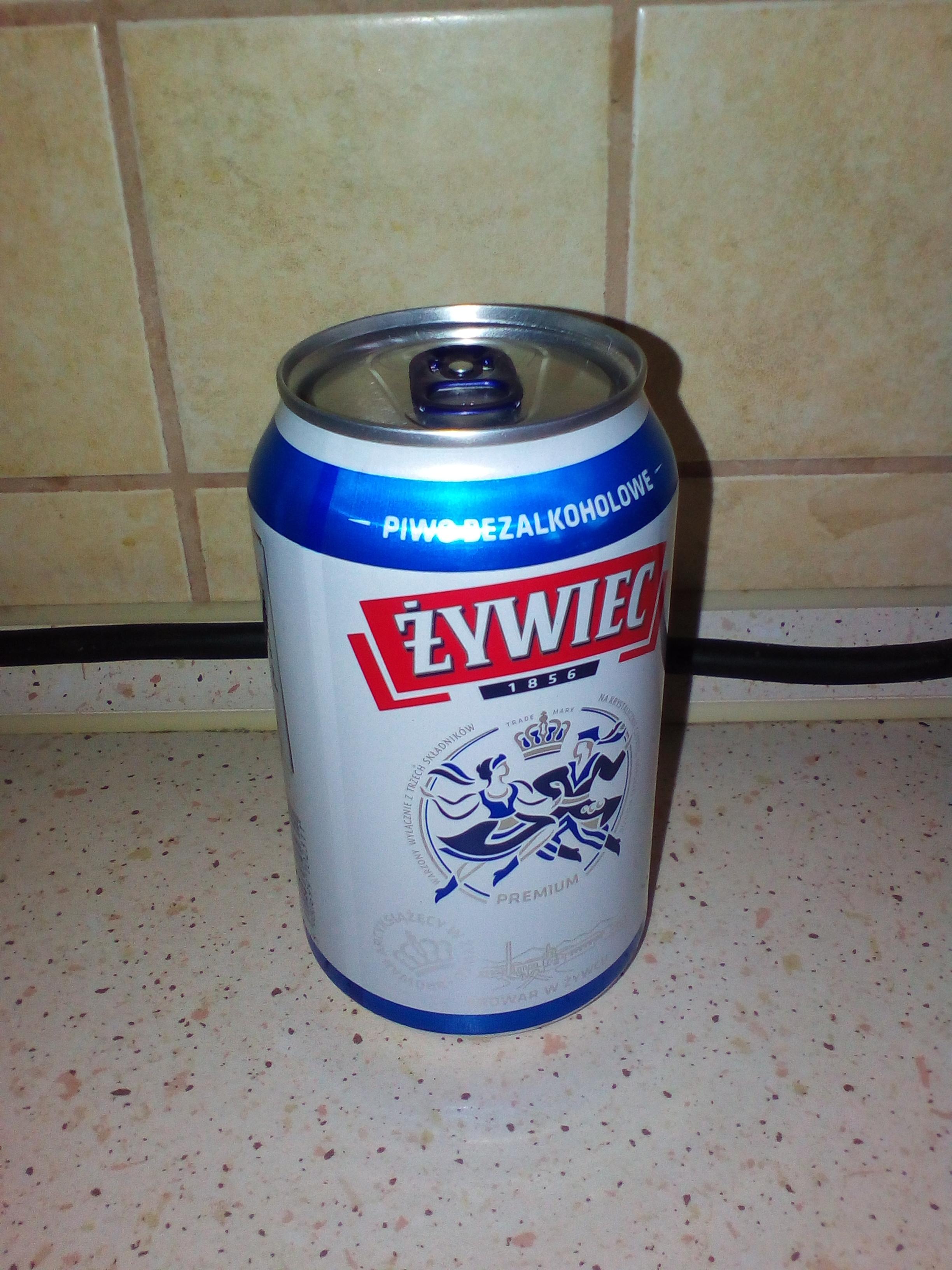 Biedronka - piwo Żywiec 0% puszka 0,33l