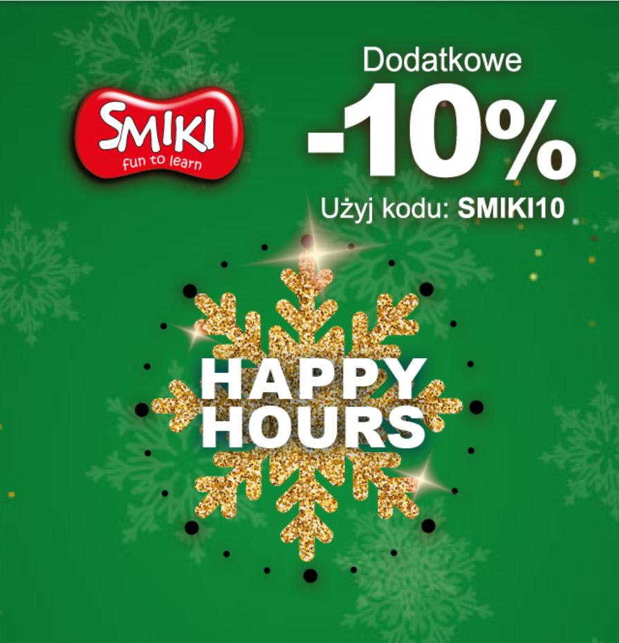 Smyk happy hours dodatkowe -10%
