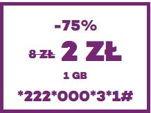 2zł za 1GB transferu danych w ofercie #freemium @ Virgin Mobile