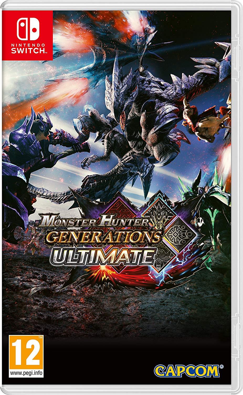 Monster Hunter Generations [Nintendo Switch] za ~121,50zł z wysyłką @ Amazon
