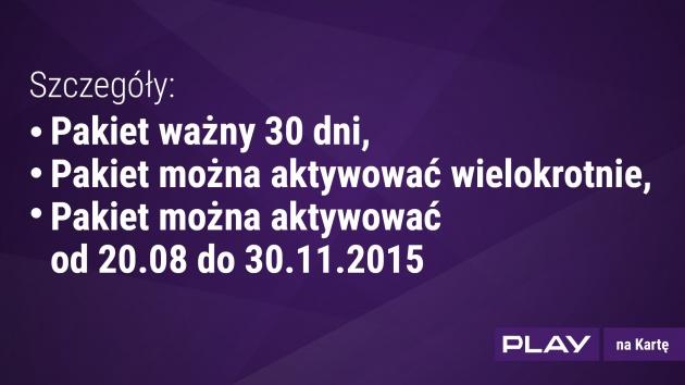 Promocja 10GB za 10zł przedłużona do ODWOŁANIA @ Play