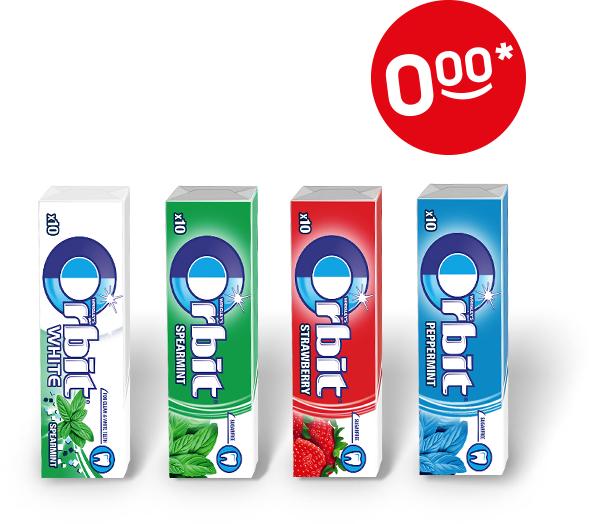 Doz.pl - darmowa guma Orbit za odbiór zamówienia w Żabce/Freshmarket