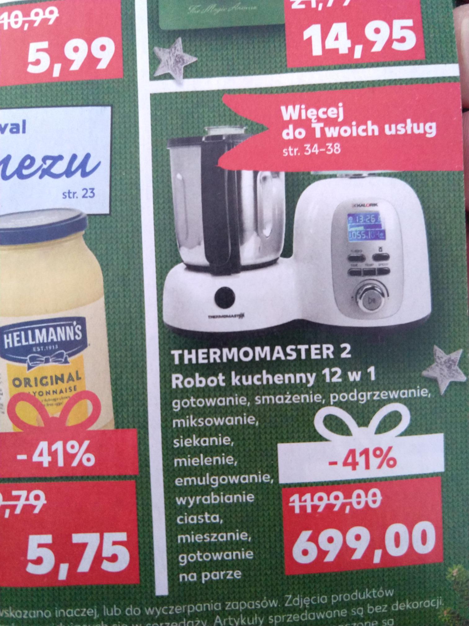 Robot kuchenny 12w1 THERMOMASTER 2 Kaufland