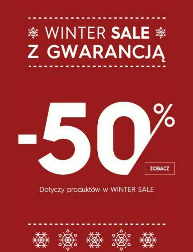 Zimowa wyprzedaż Top Secret -50%