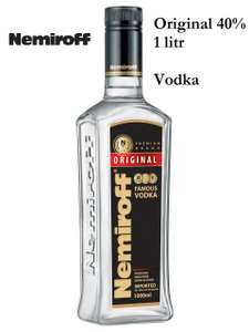 Nemiroff Original Vodka 40% 1L